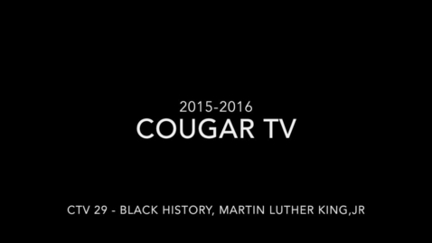 Thumbnail for entry Capital High School 2015 - 2016 Cougar TV Show 29