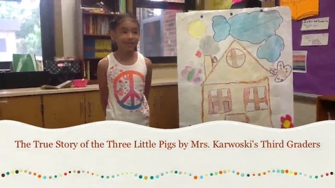 Thumbnail for entry The True Story of the Three Little Pigs