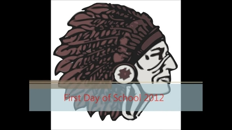 Thumbnail for entry Omaha Nation First Day of School 2012