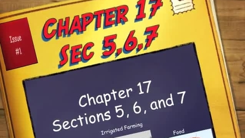 Thumbnail for entry Chapter 17 Sections 5,6, and 7