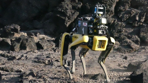 Thumbnail for entry Mars Dogs: AI Powered Autonomous Robot Concept for Mars - [R&D from NASA's Team CoSTAR]