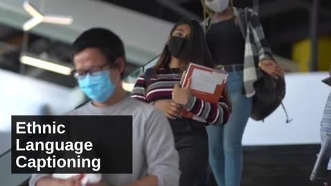 Thumbnail for entry Ethnic Language Captioning Ad