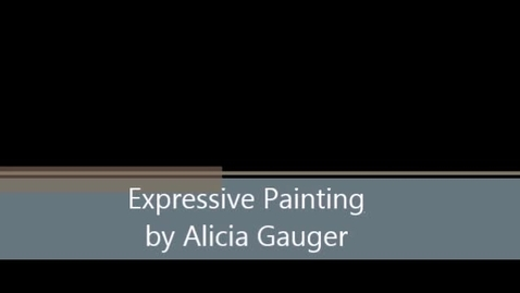 Thumbnail for entry Expressive Painting