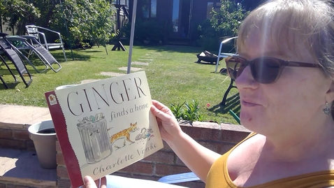 Thumbnail for entry Ginger finds a home by Charlotte Voake