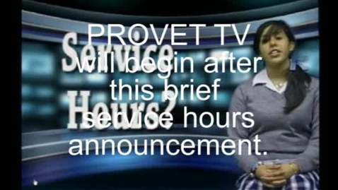Thumbnail for entry Provet TV 21 May 2010: Episode 164