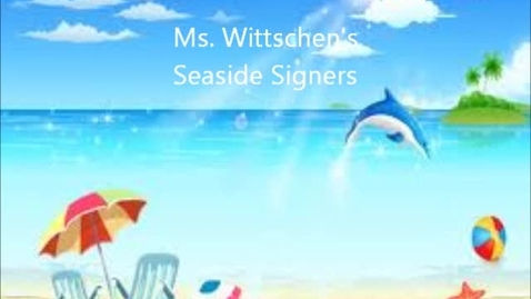 Thumbnail for entry Seaside Signers Day 8