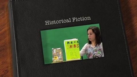 Thumbnail for entry Sarah's Historical Fiction