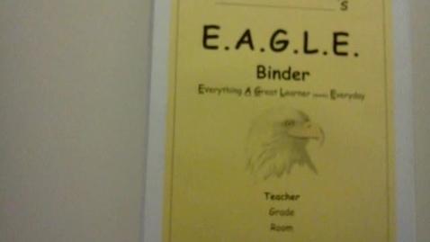 Thumbnail for entry Eagle Binder Presentation