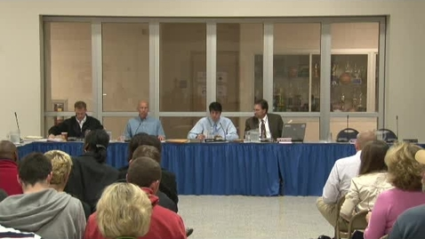 Thumbnail for entry Spring-Ford Board Meeting October 2011