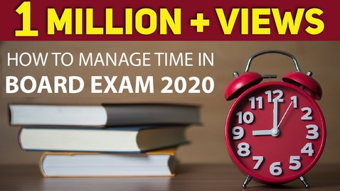 Thumbnail for entry Best Time Table Preparation Tips For Test &  Exams    Exam Tips for Students    LetsTute