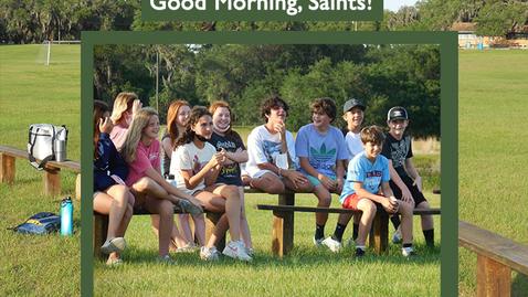 Thumbnail for entry Saints @ 8 - May 6, 2021