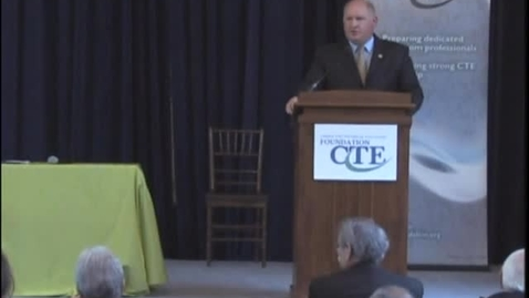 Thumbnail for entry Rep. Thompson Speaks about Career Tech Education