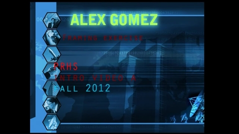 Thumbnail for entry my best framing alex gomez