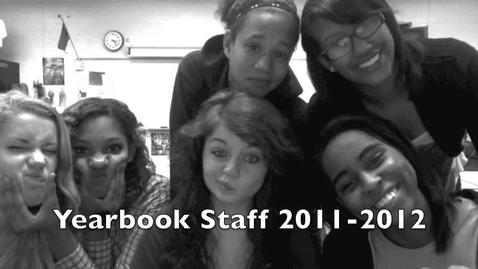 Thumbnail for entry Yearbook Staff 2012 NHS