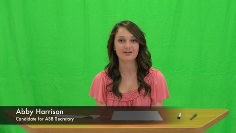 Thumbnail for entry Candidates for '12/'13 ASB Secretary