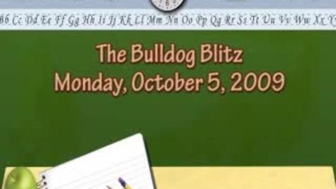 Thumbnail for entry Bulldog Blitz 0ct. 5 2009