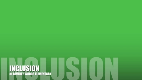 Thumbnail for entry Inclusion Week 2013 #2