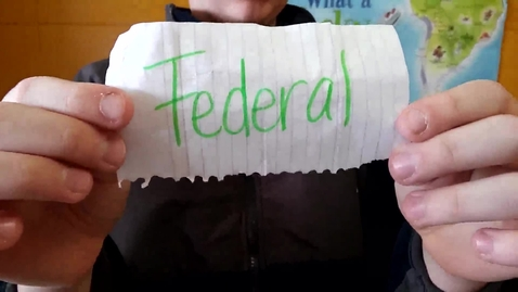 Thumbnail for entry Federal System 3rd period