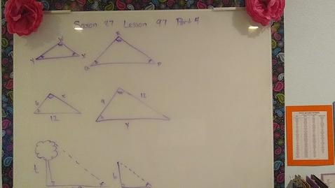 Thumbnail for entry Saxon 8/7 Lesson 97 part 4