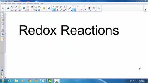 Thumbnail for entry Redox Basics Review