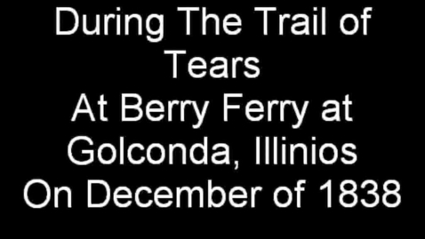 Thumbnail for entry Trail of Tears