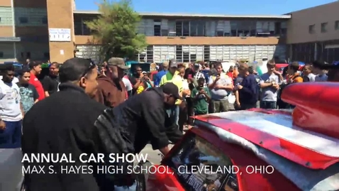 Thumbnail for entry 2014 Car Show at Cleveland's Max S. Hayes High School