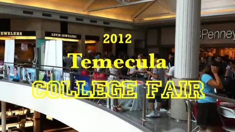Thumbnail for entry Temecula College and Vocational Expo 2012