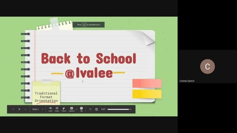 Thumbnail for entry Traditional Format Orientation-Principals Message