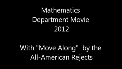 Thumbnail for entry 2011-2012 Brookville Jr.-Sr. High School - Math
