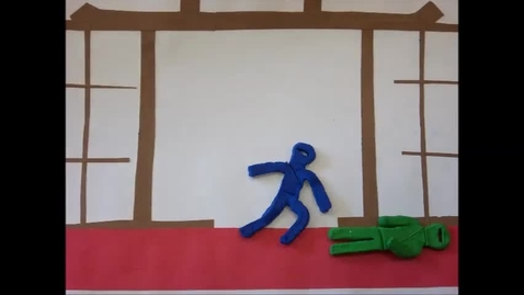 Thumbnail for entry 2013 JMS Claymation Ninjas in Action