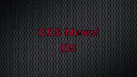 Thumbnail for entry CCS News D5 - Dec 17, 2010