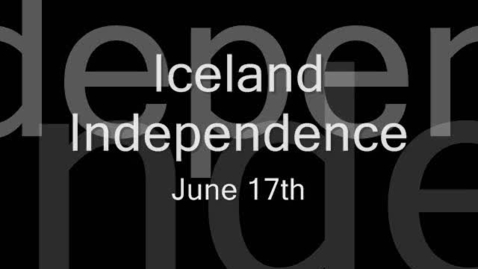 Thumbnail for entry Iceland Independence Day