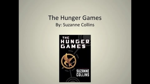 Thumbnail for entry The Hunger Games