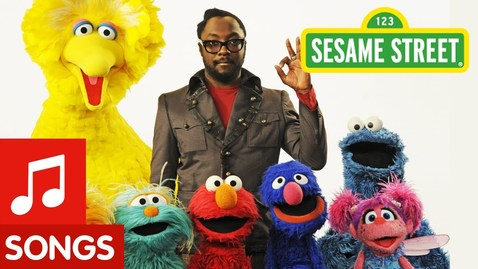 """Thumbnail for entry Sesame Street: Will.i.am Sings """"What I Am"""""""