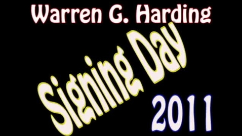 Thumbnail for entry Signing Day 2011 (WSCN 2010-2011)