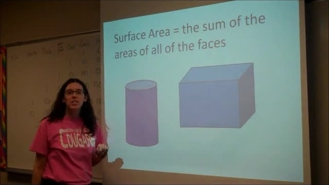 Thumbnail for entry Surface Area - Cylinder