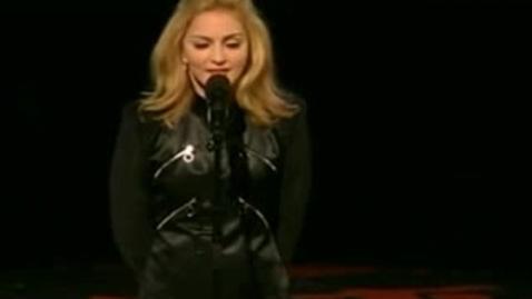 Thumbnail for entry Madonna VMA Speech