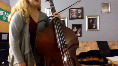 Thumbnail for entry 6th Grade Bass String Basics Book 1 Page 28-29.mp4