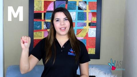 Thumbnail for entry CLASE DE SEÑAS GRATIS!!!!! Primera Clase : El Abecedario (ASL Puerto Rico)