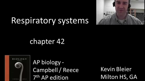 Thumbnail for entry Respiratory systems and gas exchange