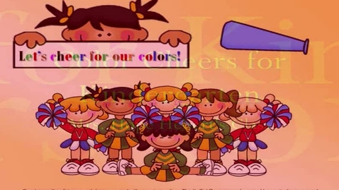 Thumbnail for entry Color Cheers for Kindergarten