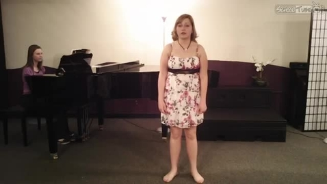 Thumbnail for entry Monologue audition with vocal
