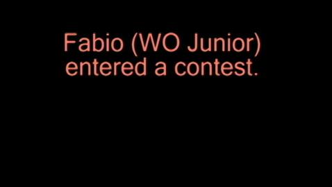 Thumbnail for entry Fabio Martin Quintas Seventeen Magazine Contest