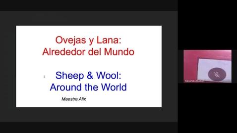 Thumbnail for entry Ovejas y Lana Alrededor del Mundo