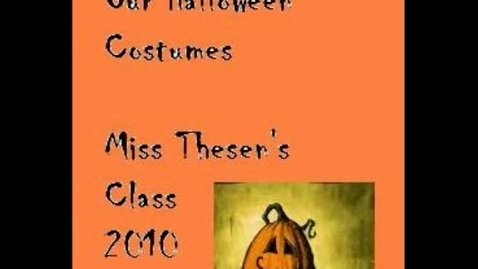 Thumbnail for entry Our Halloween Costumes