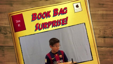 Thumbnail for entry Isaac's Book Bag Surprise