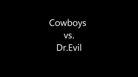 Thumbnail for entry Cowboys vs. Gorilla