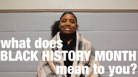 Thumbnail for entry Black History Month Video