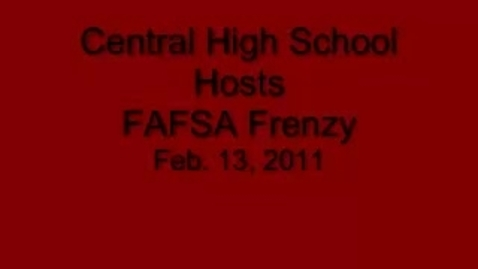 Thumbnail for entry FAFSA Frenzy