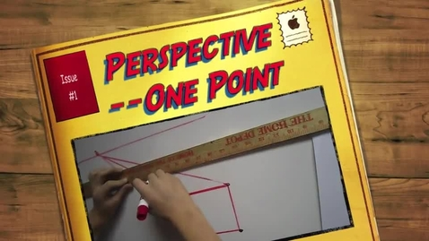 Thumbnail for entry Perspective--One Point